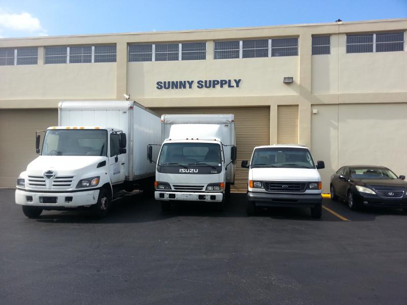 Sunny Supply Miami Warehouse
